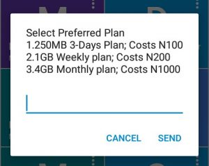 get 1gb for 200 on MTN