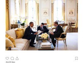 Pete Souza mocks Donald Trump
